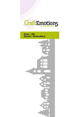 Craft Emotions CraftEmotions Die - dorpje met kerk