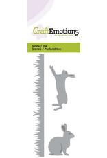 Craft Emotions CraftEmotions Die - gras. konijn. haas