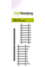 Craft Emotions CraftEmotions Die - houten hek 2x
