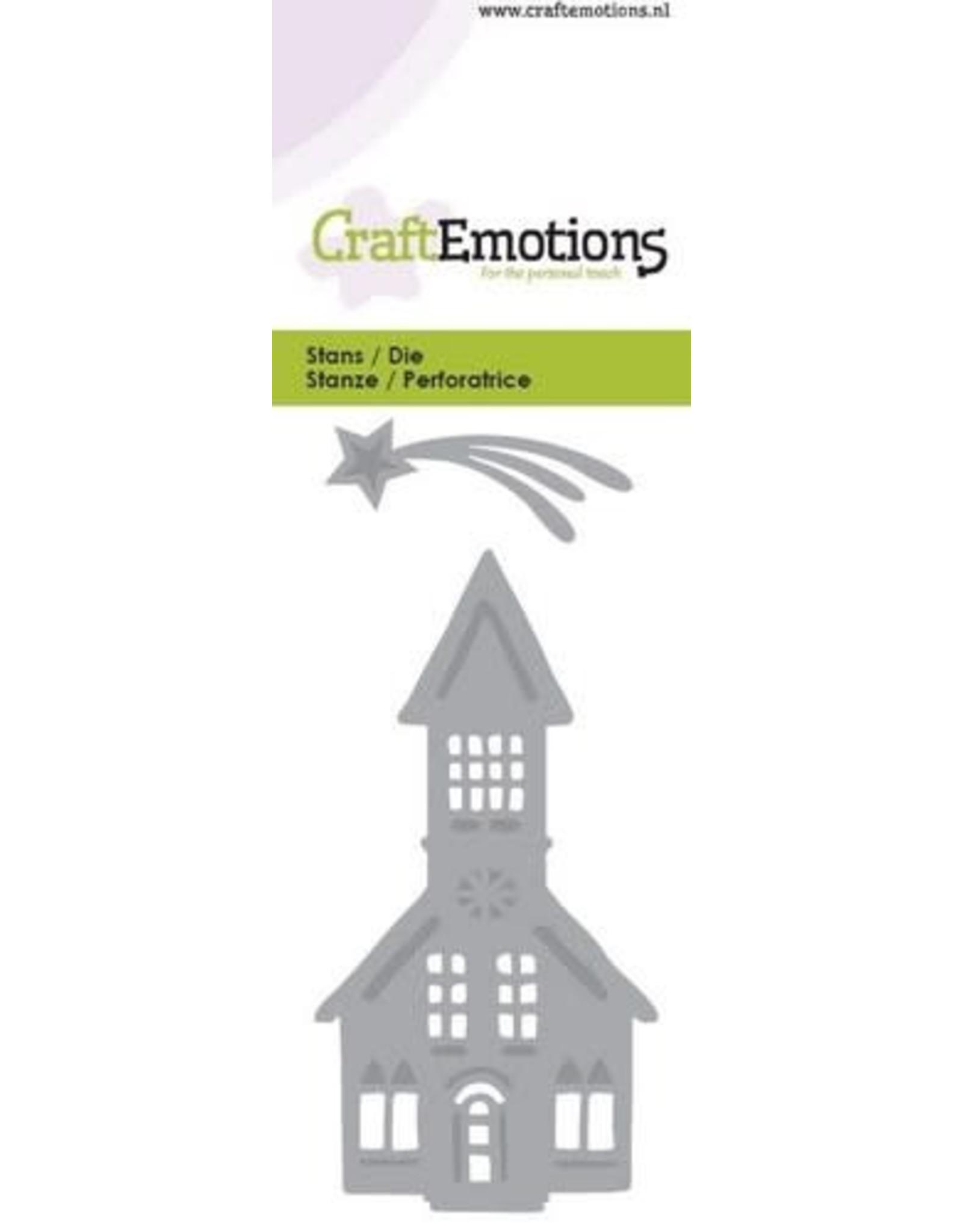 Craft Emotions CraftEmotions Die - kerk. vallende ster