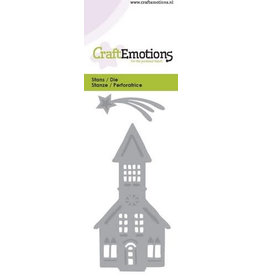 Craft Emotions CraftEmotions Die - kerk. vallende ster