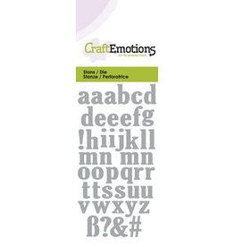 Craft Emotions CraftEmotions Die - kleine letters