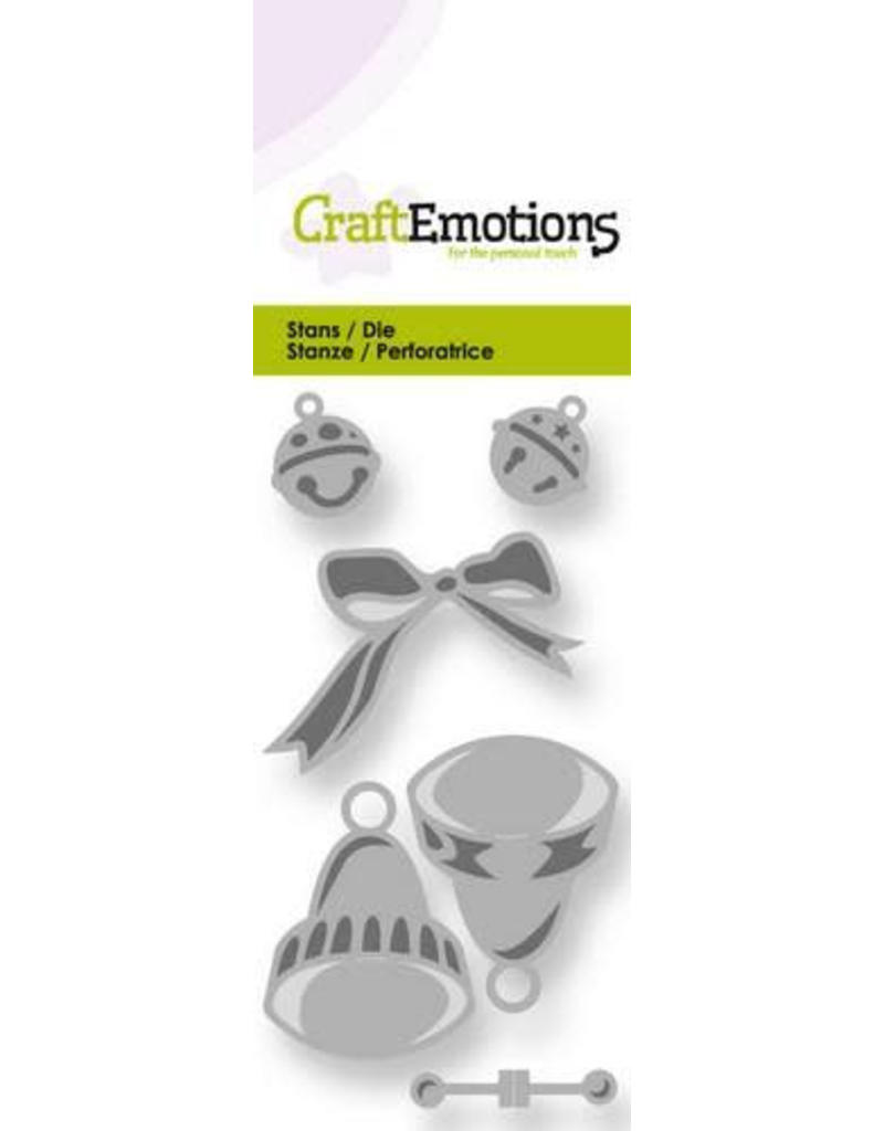 Craft Emotions CraftEmotions Die - klokjes en belletjes 50x100