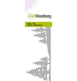 Craft Emotions CraftEmotions Die - landschap dennenbomen