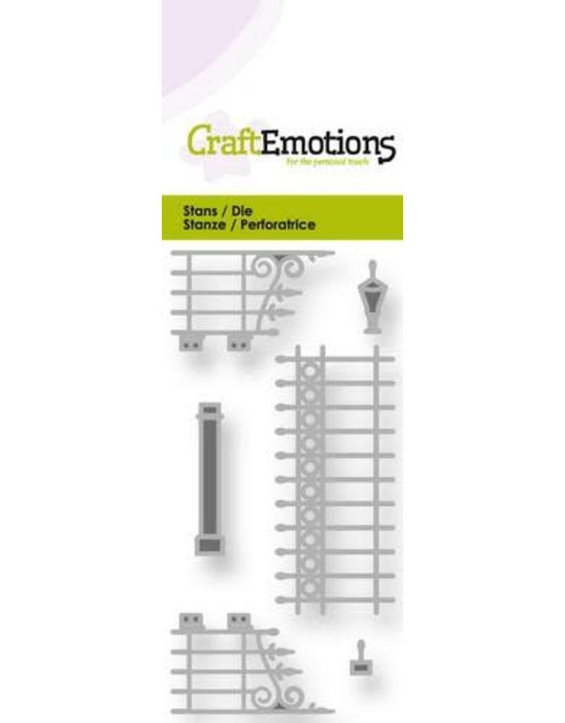 Craft Emotions CraftEmotions Die - metalen tuinhek nostalgisch