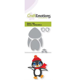 Craft Emotions CraftEmotions Die - pinguin 3D
