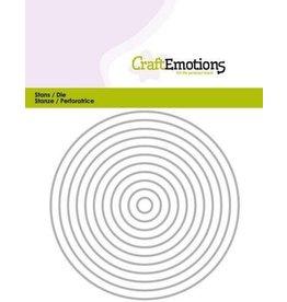 Craft Emotions CraftEmotions Die - randen recht cirkel