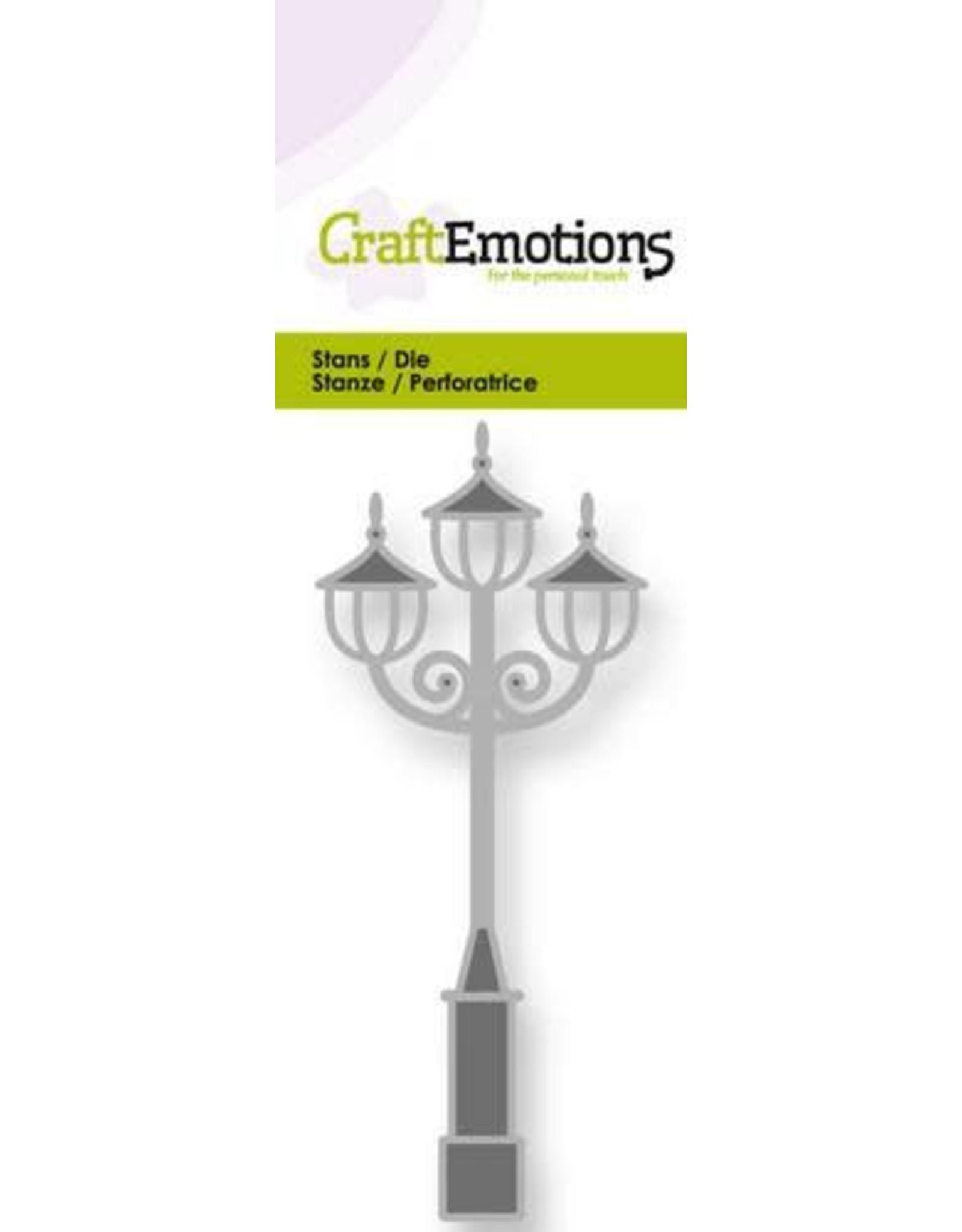 Craft Emotions CraftEmotions Die - straatlantaarn nostalgisch