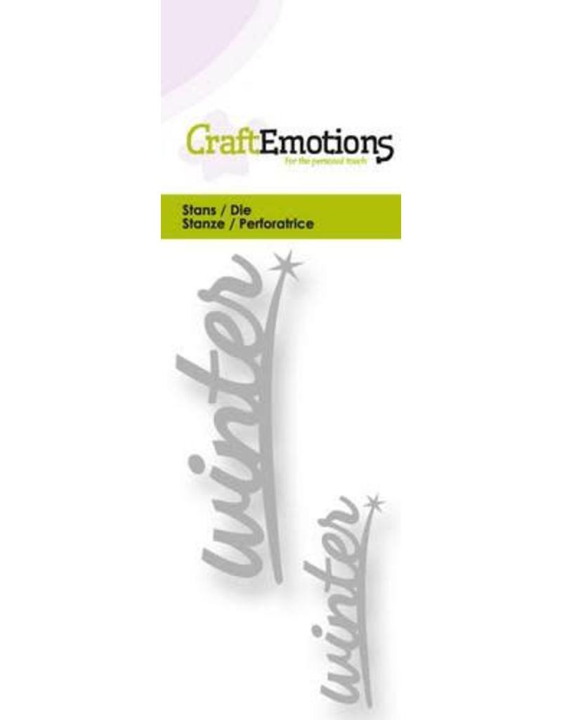 Craft Emotions CraftEmotions Die - tekst winter 2x
