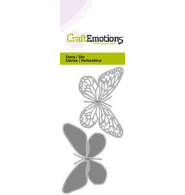 Craft Emotions CraftEmotions Die - vlinder 2x