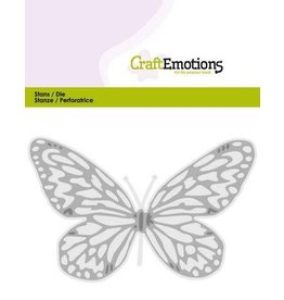 Craft Emotions CraftEmotions Die - vlinder groot