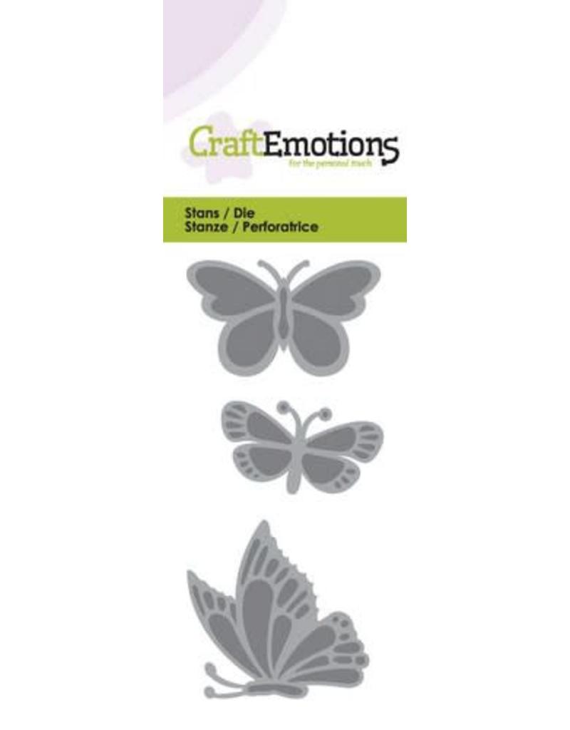 Craft Emotions CraftEmotions Die - vlinders