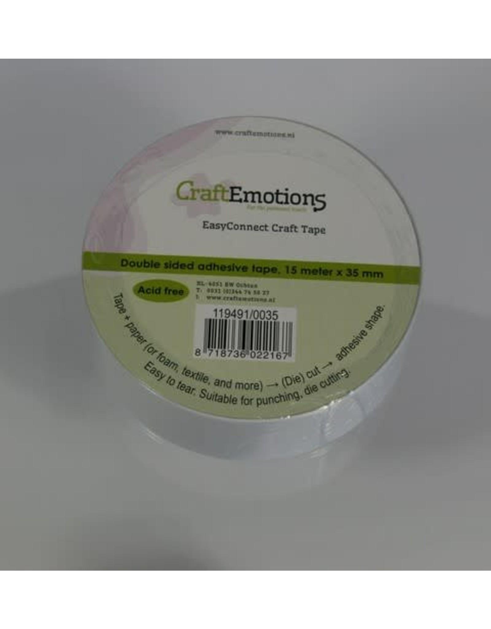 Craft Emotions CraftEmotions EasyConnect (dubbelzijdig klevend) Craft tape