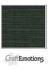 Craft Emotions CraftEmotions linnenkarton 10 vel Olijfgroen