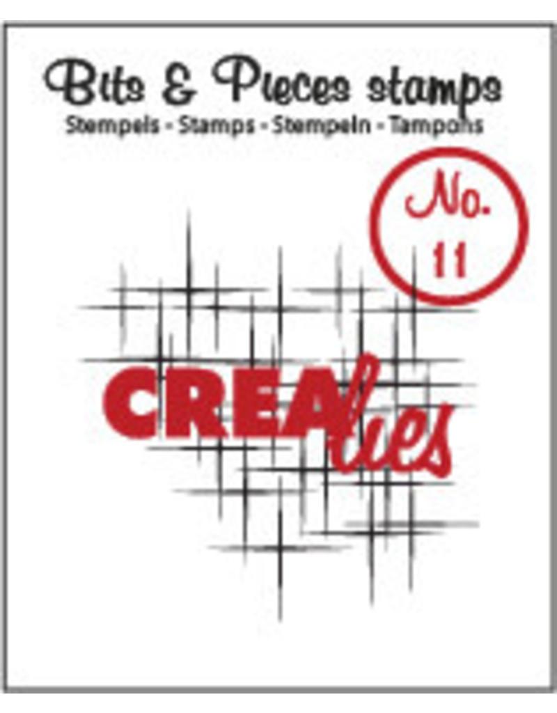 Crealies Crea-nest-dies Crealies Clearstamp Bits&Pieces no. 11 Sparkle