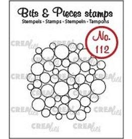 Crealies Crea-nest-dies Crealies Clearstamp Bits&Pieces no. 112 a lot of circles