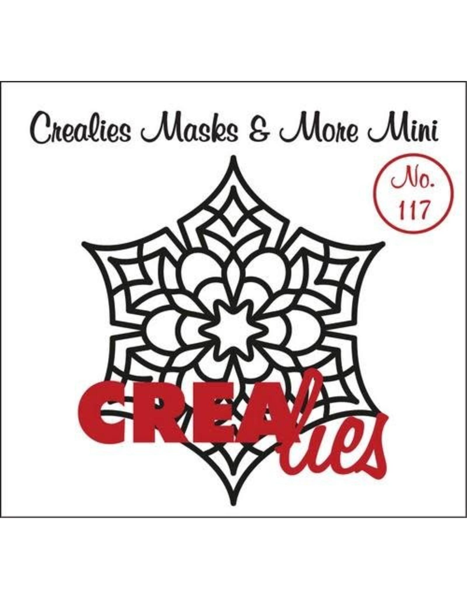 Crealies Crealies Clearstamp Bits&Pieces no. 117 Mandala D