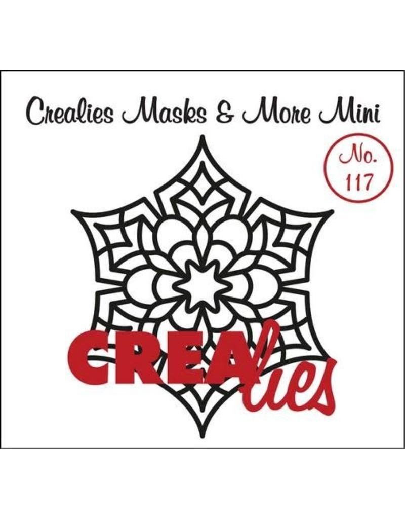 Crealies Crea-nest-dies Crealies Clearstamp Bits&Pieces no. 117 Mandala D
