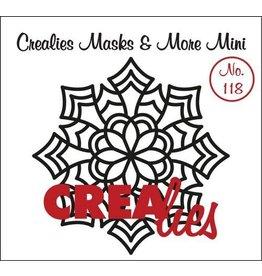 Crealies Crea-nest-dies Crealies Clearstamp Bits&Pieces no. 118 Mandala E