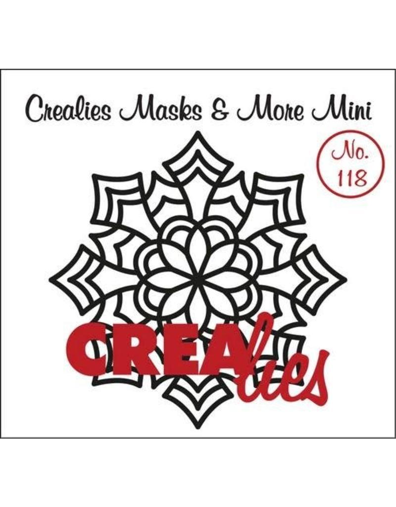 Crealies Crealies Clearstamp Bits&Pieces no. 118 Mandala E