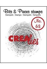 Crealies Crea-nest-dies Crealies Clearstamp Bits&Pieces no. 63