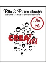 Crealies Crealies Clearstamp Bits&Pieces no. 68