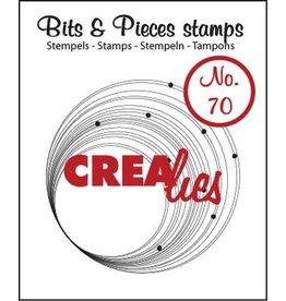 Crealies Crea-nest-dies Crealies Clearstamp Bits&Pieces no. 70