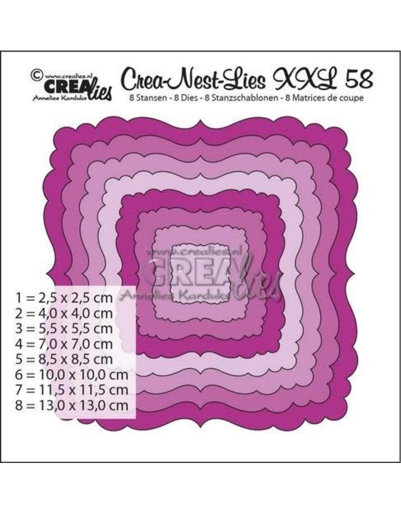 Crealies Crea-nest-dies Crealies Crea-nest-dies XXL no. 58