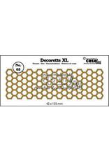 Crealies Crea-nest-dies Crealies Decorette XL no. 03 Honingraat