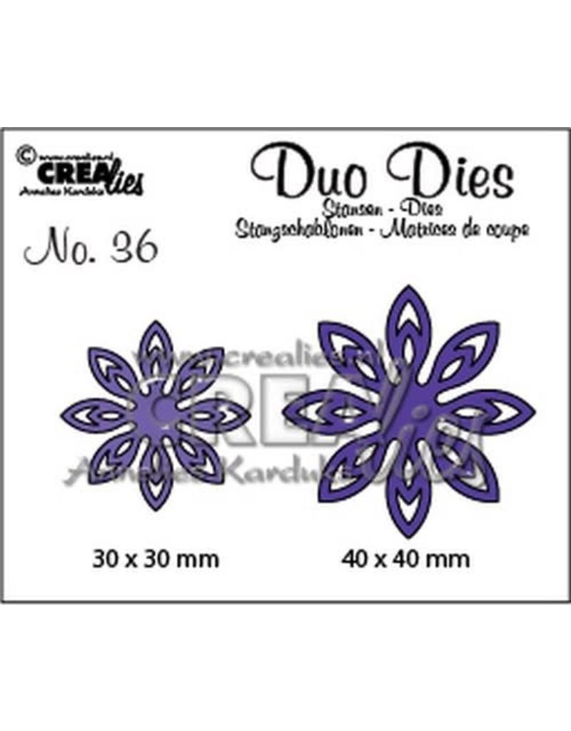 Crealies Crea-nest-dies Crealies Duo Dies no. 36 bloemen 18