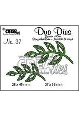 Crealies Crea-nest-dies Crealies Duo Dies no. 37 blaadjes 5
