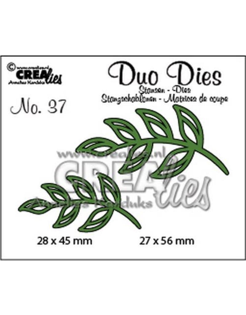 Crealies Crealies Duo Dies no. 37 blaadjes 5