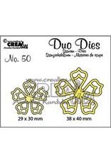 Crealies Crealies Duo Dies no. 50  bloemen 21