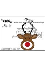 Crealies Crea-nest-dies Crealies Partz no. 21 Rendier