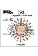 Crealies Crealies Uno no. 48 Bloemen 20