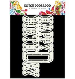 Dutch Doobadoo Card Art Dutch Doobadoo Dutch Card Art Happy Birthday