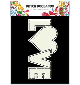 Dutch Doobadoo Card Art Dutch Doobadoo Dutch Card Art Love