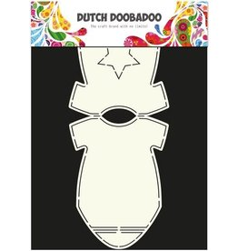 Dutch Doobadoo Card Art Dutch Doobadoo Dutch Card Art Stencil baby rompertje A4