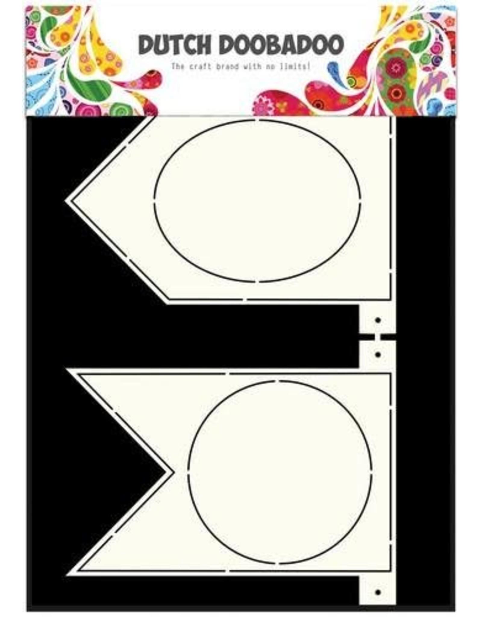 Dutch Doobadoo Card Art Dutch Doobadoo Dutch Card Art Stencil Banner Flaggetjes  A4