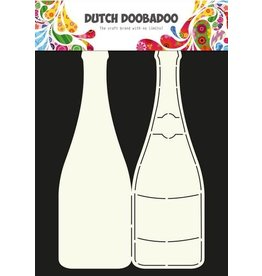 Dutch Doobadoo Card Art Dutch Doobadoo Dutch Card Art Stencil Champagnefles A4 470.713.602