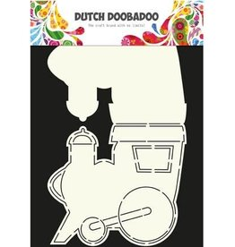 Dutch Doobadoo Card Art Dutch Doobadoo Dutch Card Art Stencil locomotief  A4