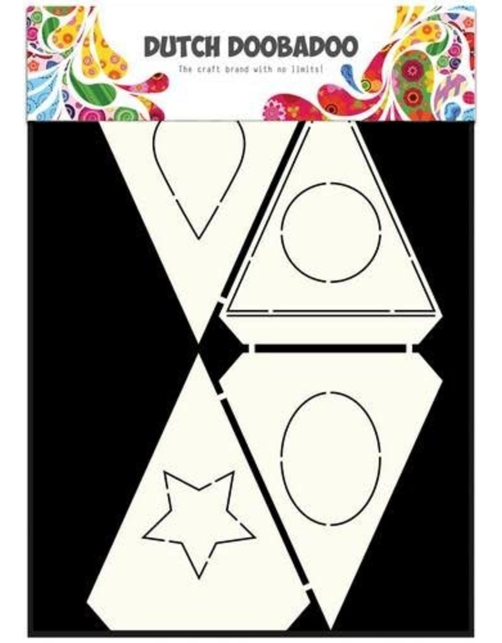 Dutch Doobadoo Card Art Dutch Doobadoo Dutch Card Art Stencil Shapes A4