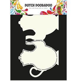 Dutch Doobadoo Card Art Dutch Doobadoo Dutch Card Art Stencil theepot A4