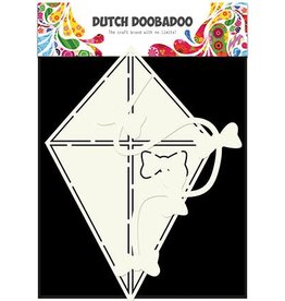 Dutch Doobadoo Card Art Dutch Doobadoo Dutch Card Art Stencil Vlieger A5