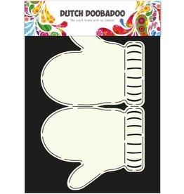 Dutch Doobadoo Card Art Dutch Doobadoo Dutch Card Art stencil wanten A4