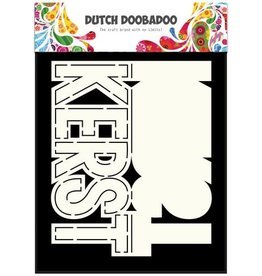 Dutch Doobadoo Card Art Dutch Doobadoo Dutch Card Art tekst kerst (NL) A5