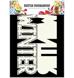 Dutch Doobadoo Card Art Dutch Doobadoo Dutch Card Art tekst Winter