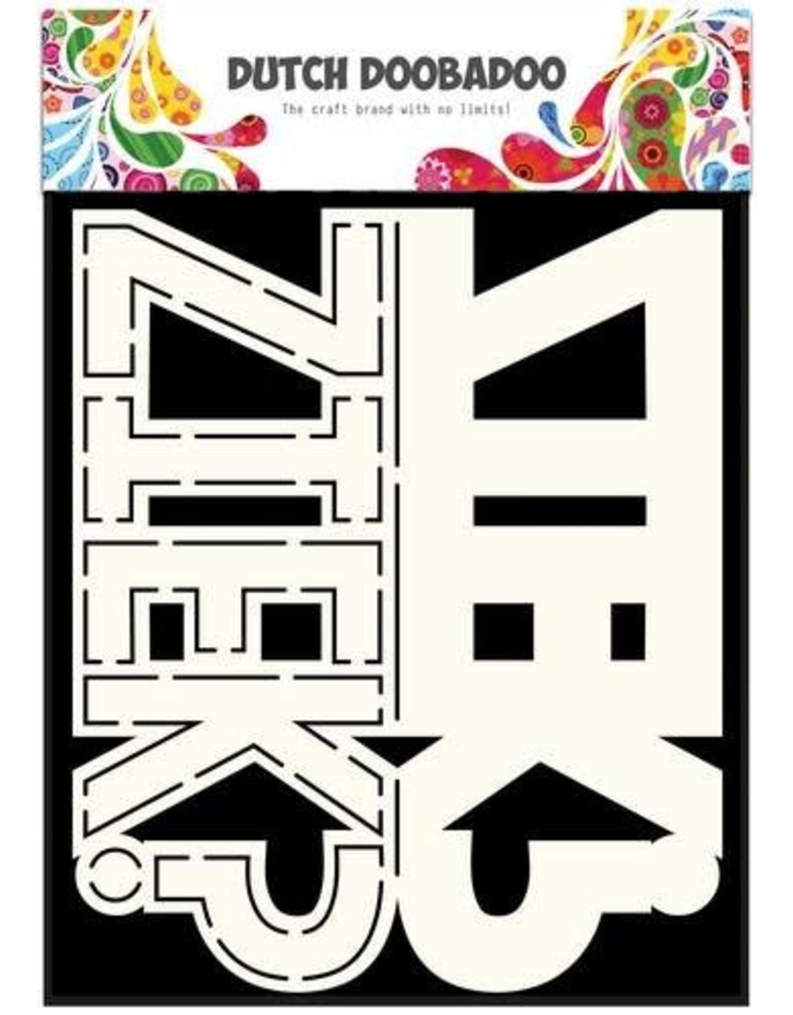 Dutch Doobadoo Card Art Dutch Doobadoo Dutch Card Art tekst Ziek? A5