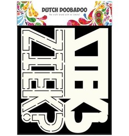 Dutch Doobadoo Card Art Dutch Doobadoo Dutch Card Art tekst Ziek? A5
