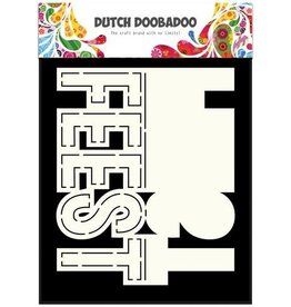 Dutch Doobadoo Card Art Dutch Doobadoo Dutch Card Art text Feest (NL) A5